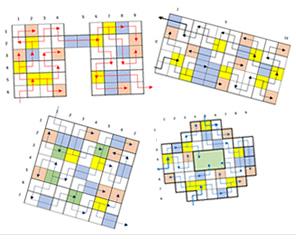 迷路図面は最大50パターンお子様を飽きさせずに、繰り返し楽しめる!