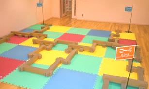 幼稚園・子供センターなど室内遊びにも
