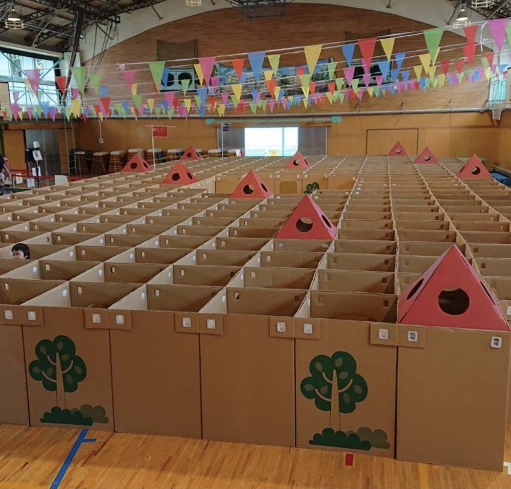 2020年11月 保育園・幼稚園・イベントで大好きな迷路!